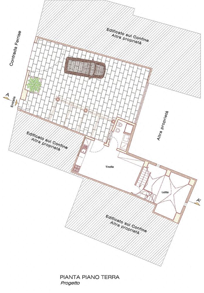 casa_ciardo_Pianta-piano-terra-di-progetto-sketch