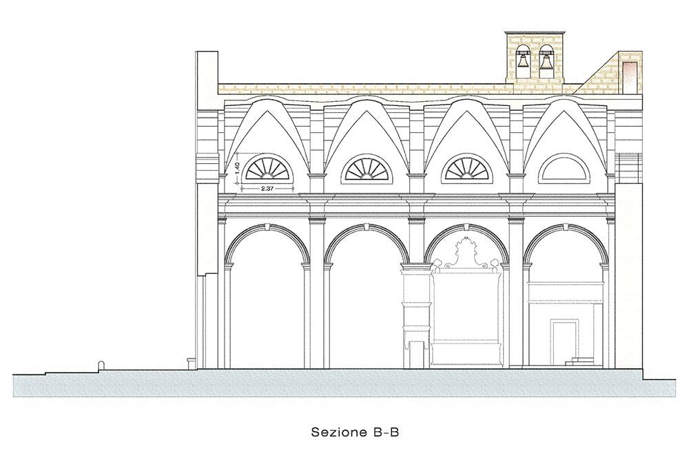 chiesa_montesardo_sezione_B-B_gianfranco_marino